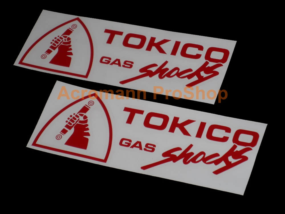Tokico 6inch Decal x 2 pcs